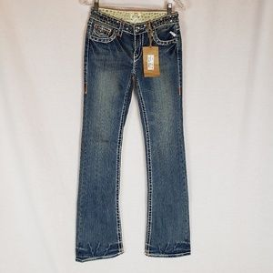 L.A. Idol Jean's NWT size 5 Pretty w/Bling